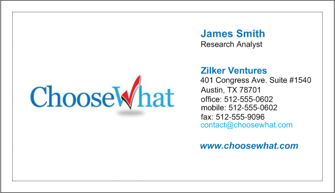 Vistaprint business cards review 2017 choosewhat vistaprint card reheart Choice Image