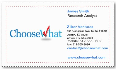 Zazzle business cards review 2017 choosewhatcom for Zazzle business cards review